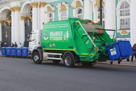 В Санкт-Петербурге предусмотрены возможности для экономии средств на вывозе отходов
