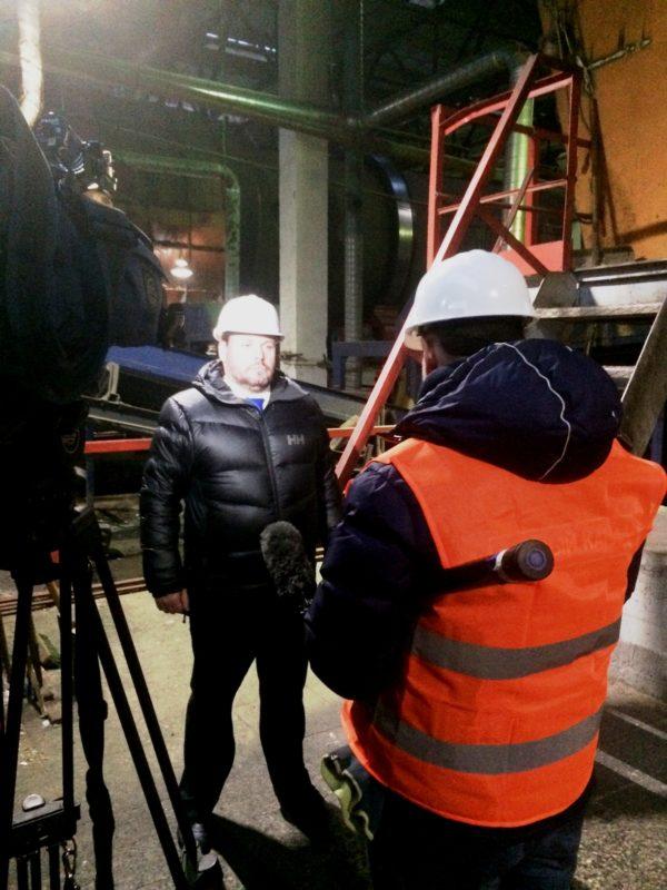 «Завод МПБО-2» в программе «Время» на Первом канале